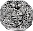 15 Kreuzer (Siege coinage) – obverse