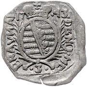 3 Kreuzer (Siege coinage) – obverse