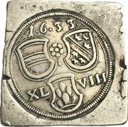 48 Klippe Kreuzer (Siege coinage) – obverse