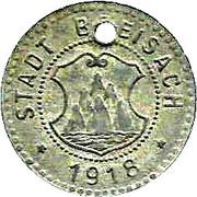 10 Pfennig - Breisach – obverse