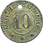 10 Pfennig - Breisach – reverse