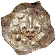 1 Pfennig (Lilienpfennig) – obverse