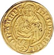 1 Goldgulden - Heinrich II. von Schwarzburg – obverse
