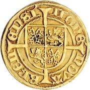 1 Goldgulden - Heinrich II. von Schwarzburg – reverse