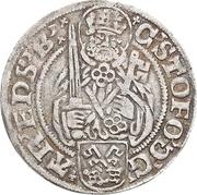 1 Groten - Christoph von Braunschweig – obverse