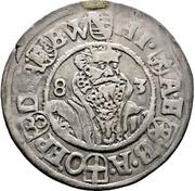 ¼ Thaler - Heinrich III. von Sachsen-Lauenburg – obverse
