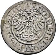 ¼ Thaler - Heinrich III. von Sachsen-Lauenburg – reverse