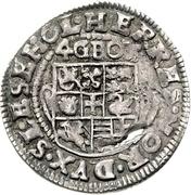 4 Groschen - Johann Friedrich von Holstein-Gottorp – reverse