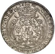 1 Thaler - Friedrich von Dänemark – reverse