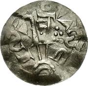 1 Pfennig - Adalbert – reverse