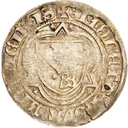 1 Grote - Heinrich II. von Schwarzburg – reverse