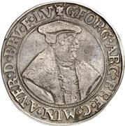 1 Thaler - Georg von Braunschweig – obverse
