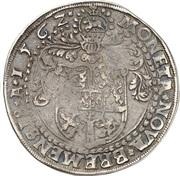 1 Thaler - Georg von Braunschweig – reverse