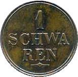 1 Schwaren – reverse