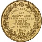 1 Thaler (New Business Exchange Gold Pattern) – reverse