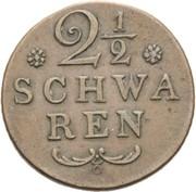 2½ Schwaren – reverse