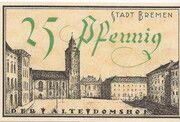 25 Pfennig (Bremen) – reverse