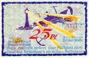 25 Pfennig (Bremerhaven, Lehe, Geestemünde) – obverse