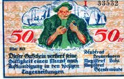50 Pfennig (Bremerhaven, Lehe, Geestemünde) – obverse