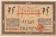 75 Pfennig (Bremen) – obverse