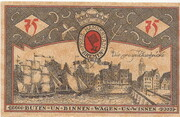 75 Pfennig (Bremen) – reverse