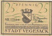 25 Pfennig (Vegesack) – obverse