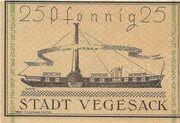 25 Pfennig (Vegesack) – reverse