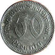50 Pfennig - Bremen – obverse