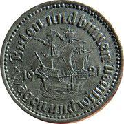 50 Pfennig - Bremen – reverse