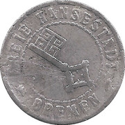 20 Pfennig - Bremen – obverse