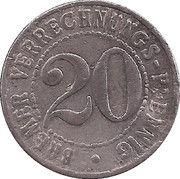 20 Pfennig - Bremen – reverse