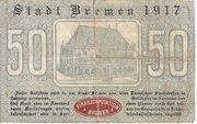50 Pfennig (Bremen) – reverse