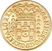 2000 Réis - João V – obverse