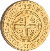 1000 Réis - José I (Lisbon mint) – reverse