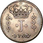600 Réis - José I – obverse
