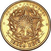 10 000 Réis – reverse