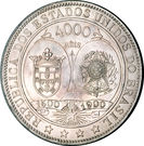 4000 Réis (400th Anniversary of the Discovery) – reverse