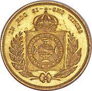 5000 Réis - Pedro II – reverse