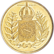 20 000 Réis - Pedro II – reverse