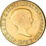 4000 Réis - Pedro II – obverse