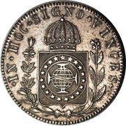 960 Réis - Pedro II – reverse