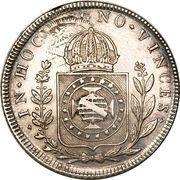 960 Réis - Pedro I – reverse