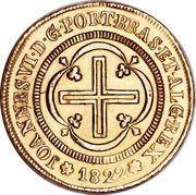4000 Réis - João VI – obverse