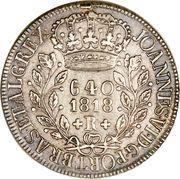 640 Réis - João VI – obverse