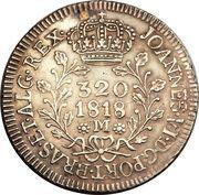 320 Réis - João VI – obverse