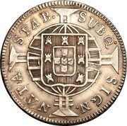 320 Réis - João VI – reverse