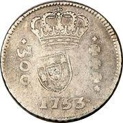 320 Réis - João Prince Regent (Countermarked 300 Réis) – obverse