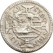 160 Réis - João Prince Regent (Countermarked 150 Réis) – reverse