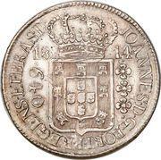 640 Réis - João Prince Regent – obverse