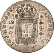 320 Réis - João Prince Regent – obverse